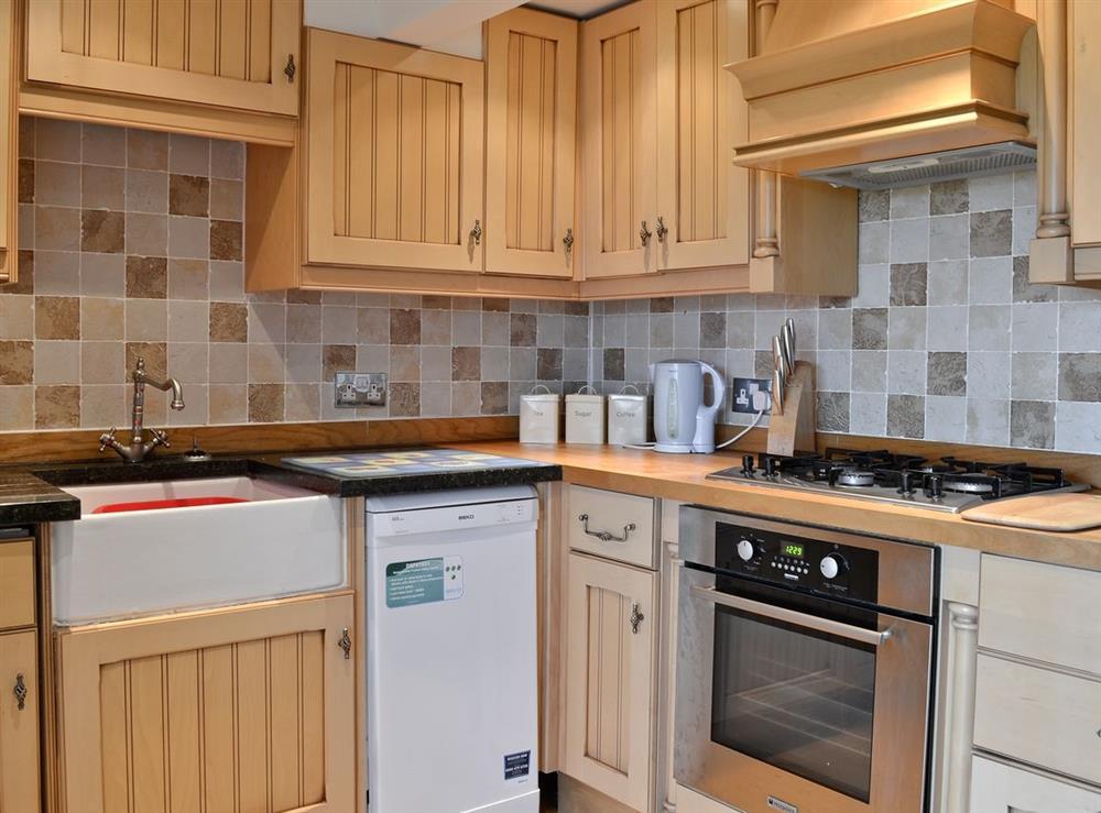 Kitchen at Samphire in Brixham, Devon