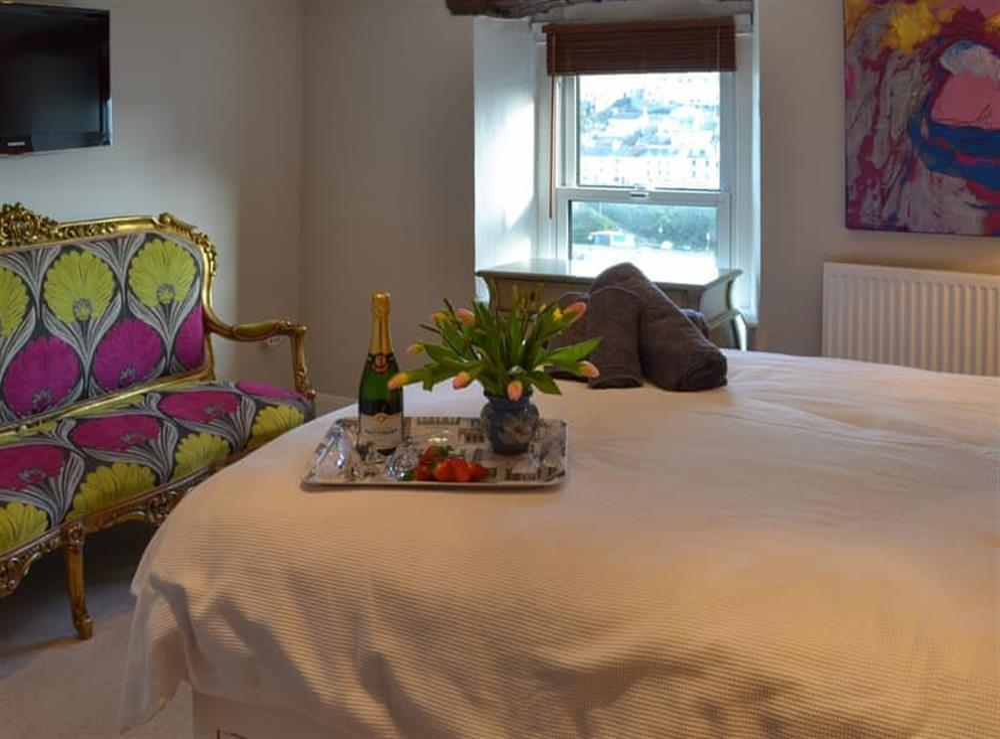 Double bedroom (photo 3) at Samphire Cottage in Brixham, Devon