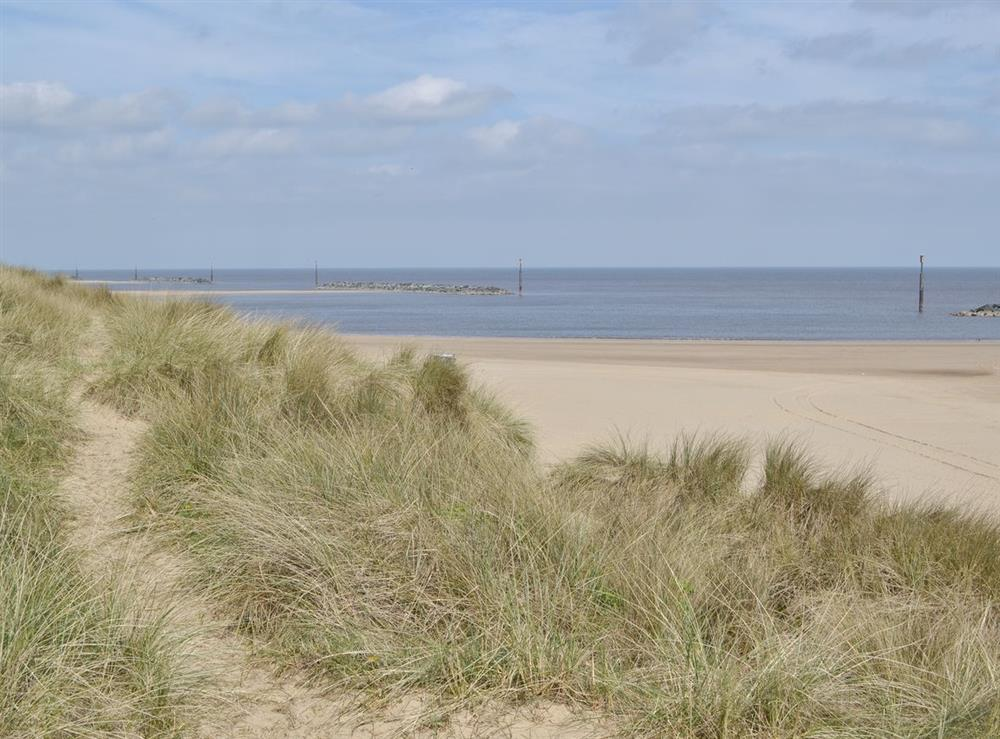 Beach at Sand Dune Cottage in Sea Palling, Norfolk