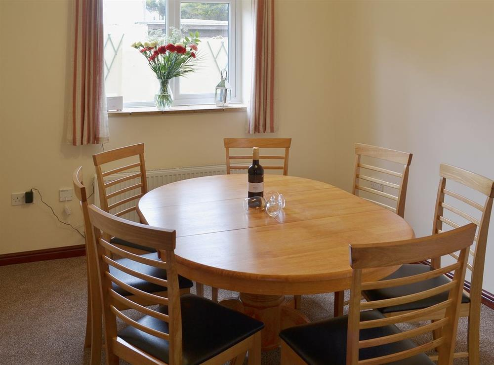 Dining room at Sand Dune Cottage in Sea Palling, Norfolk