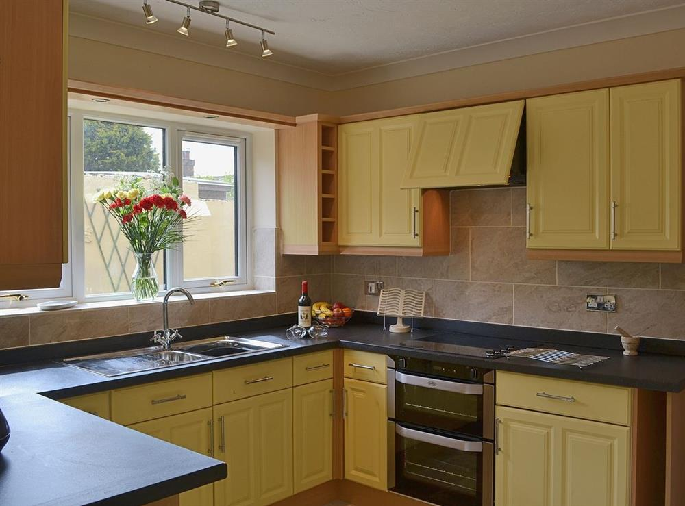Kitchen at Sand Dune Cottage in Sea Palling, Norfolk