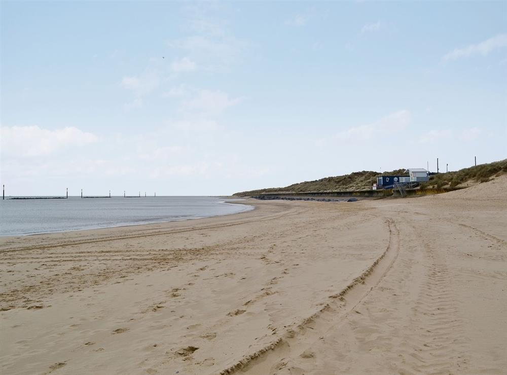 Sea Palling Beach at Sand Dune Cottage in Sea Palling, Norfolk