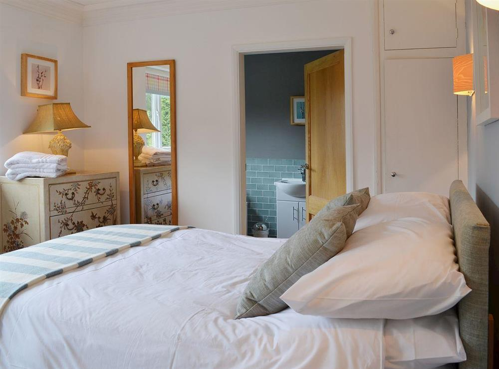 Double bedroom at Sandalls Marsh in Saxlingham Thorpe, Norfolk