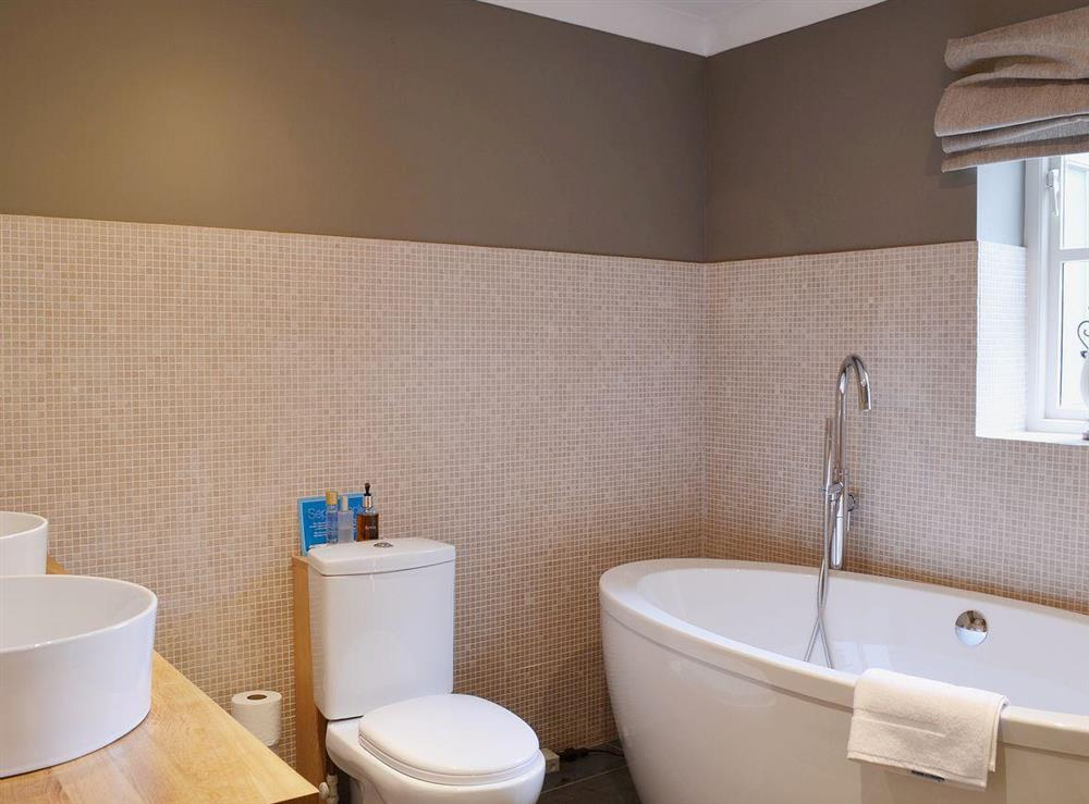 En-suite at Sandalls Marsh in Saxlingham Thorpe, Norfolk