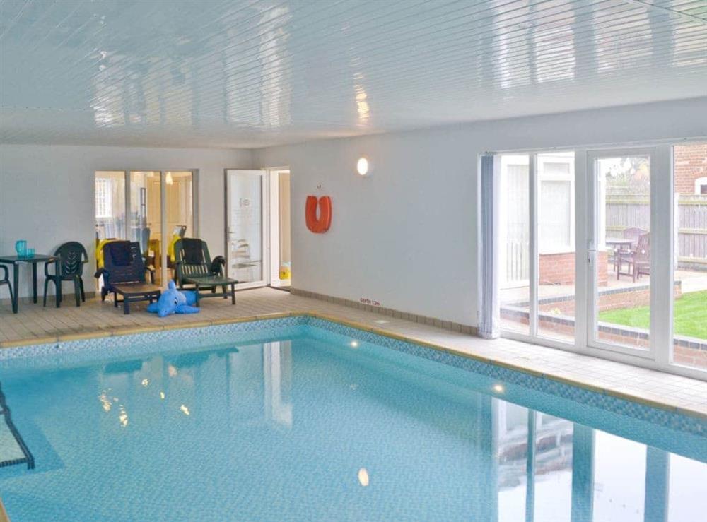 Swimming pool at Sandbanks in Bacton, Norfolk
