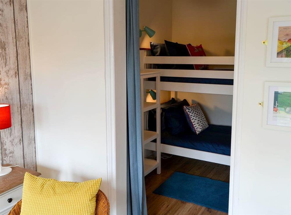 Bunk bedroom at Sandhills in Sea Palling, Norfolk