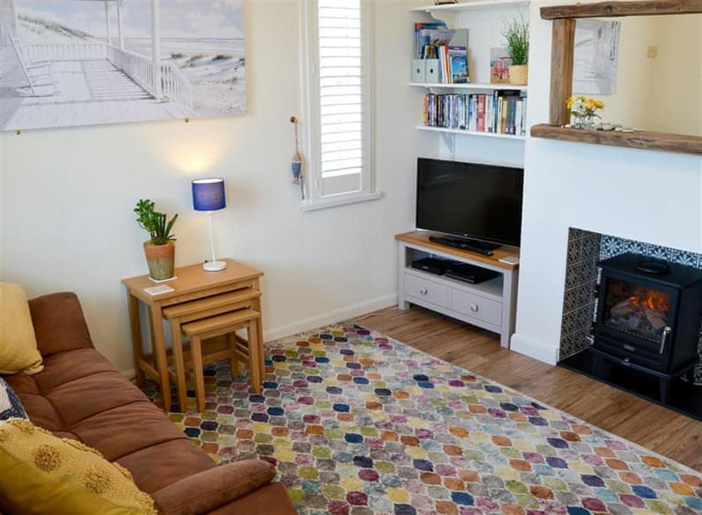 Comfortable living room at Sandhills in Sea Palling, Norfolk
