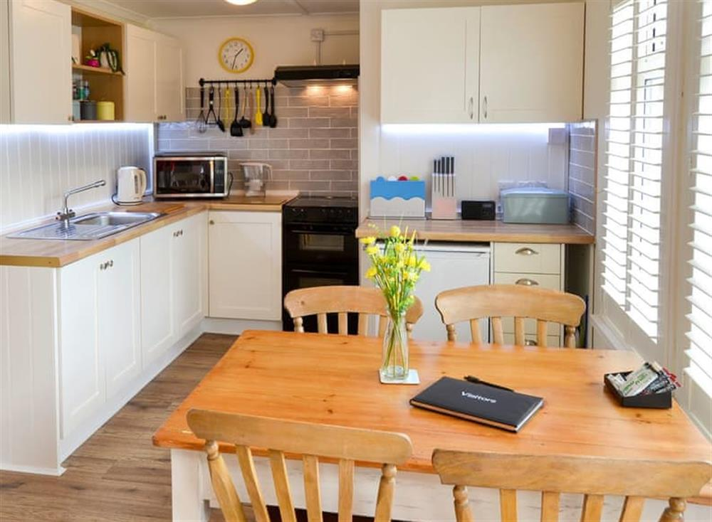 Kitchen and dining area at Sandhills in Sea Palling, Norfolk