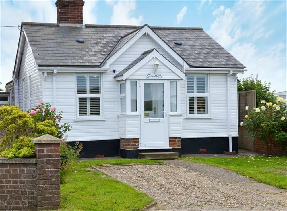Wonderful, single-storey, detached holiday home at Sandhills in Sea Palling, Norfolk