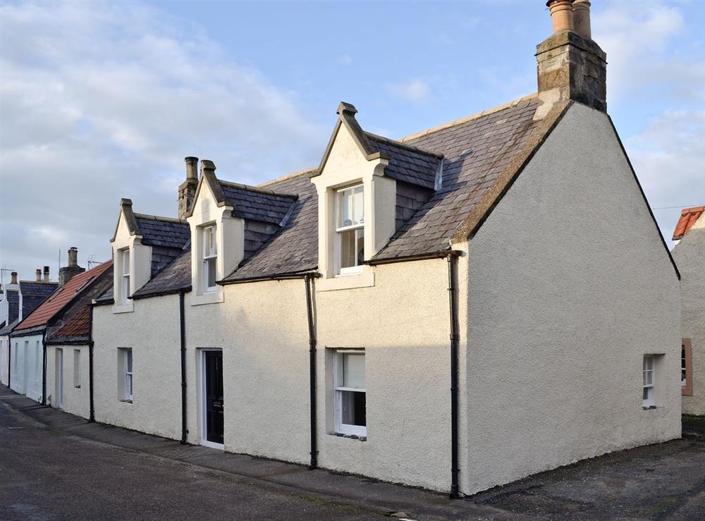 Exterior at Sandpiper in Cullen, near Buckie, Banffshire