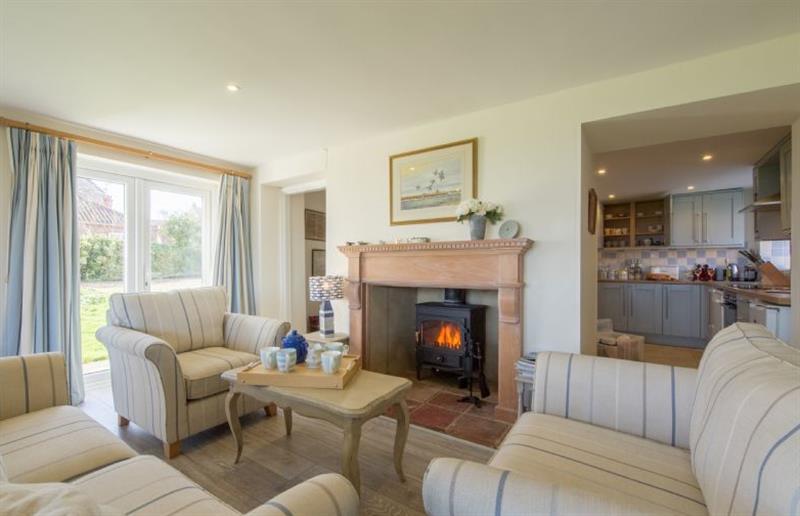 Living room at Sandpipers, Brancaster Staithe near Kings Lynn, Norfolk
