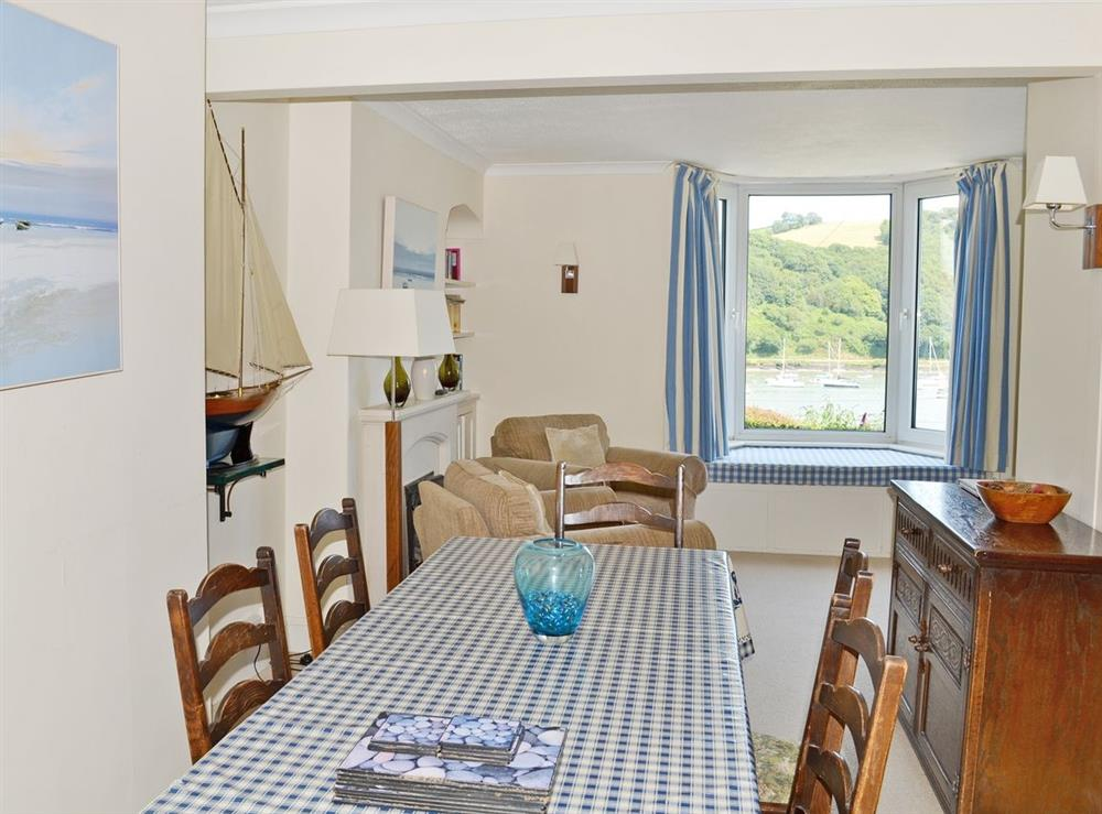 Dining Room at Sandquay Road 9 in Dartmouth, Devon