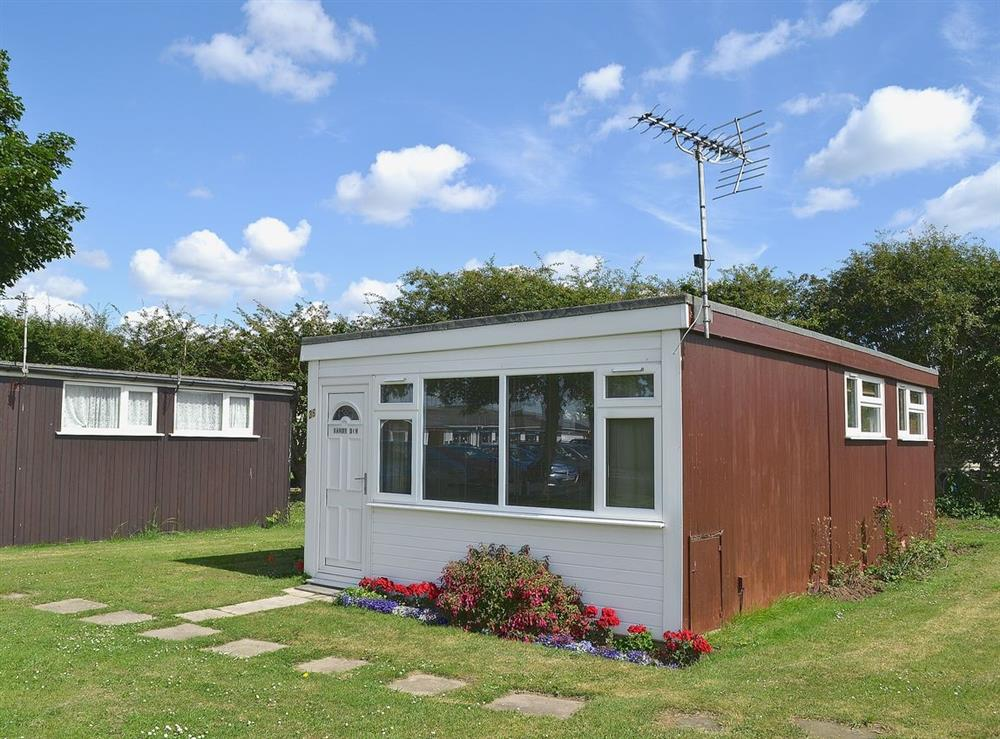 Exterior at Sandy Den in Scratby, near Hemsby, Norfolk
