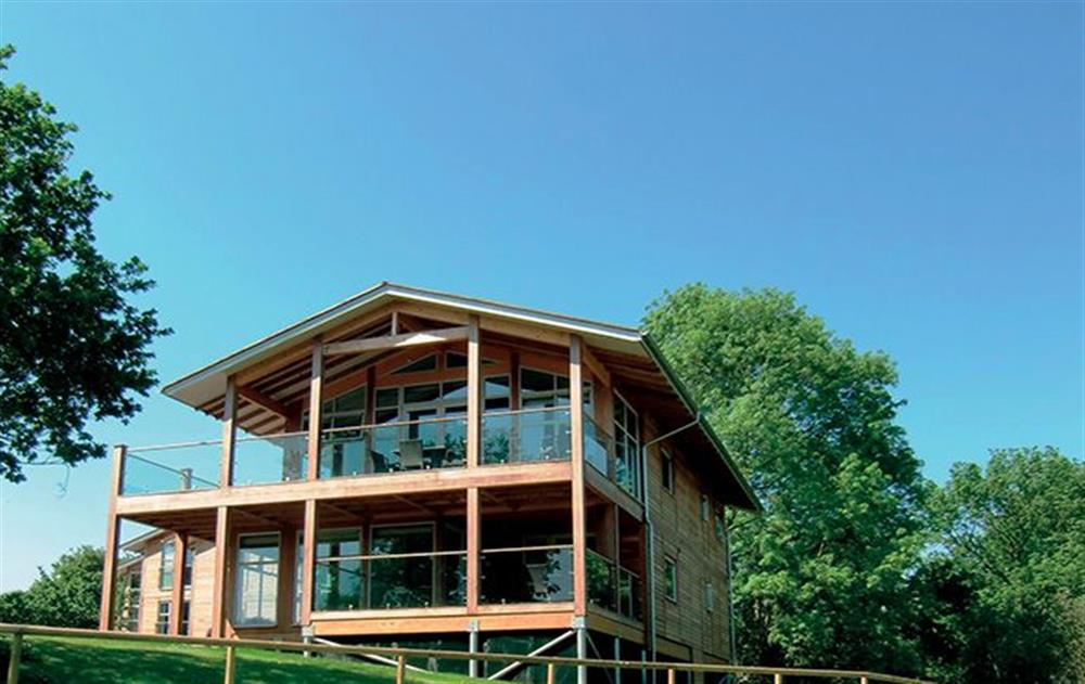 A typical lodge at Scarlet Pimpernel, Stoke by Nayland