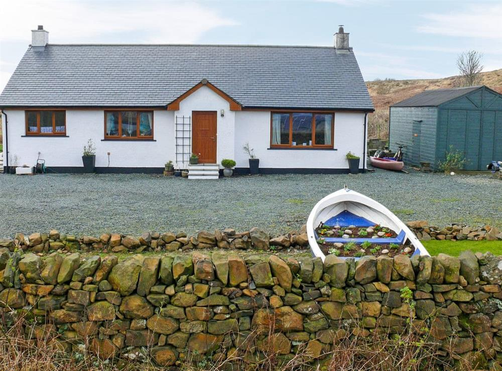 Exterior at Scridain View in Ardtun, Isle of Mull, Scotland