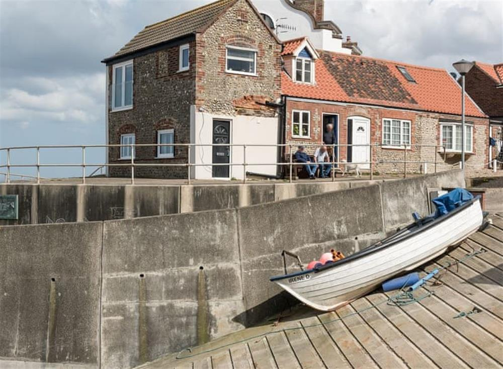Perfectly located seaside property at Sea Edge in Sheringham, Norfolk