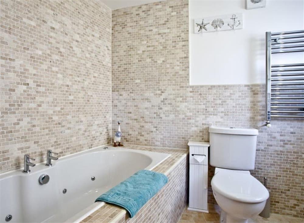 Bathroom at Sea Gem in Endsleigh Court, Dartmouth