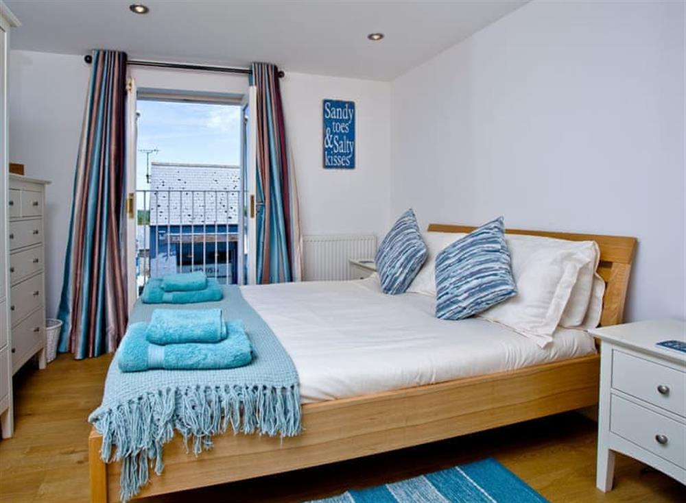Double bedroom at Sea Gem in Endsleigh Court, Dartmouth