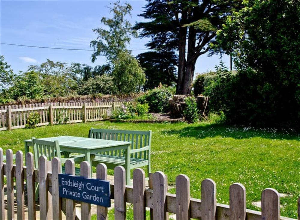 Garden at Sea Gem in Endsleigh Court, Dartmouth