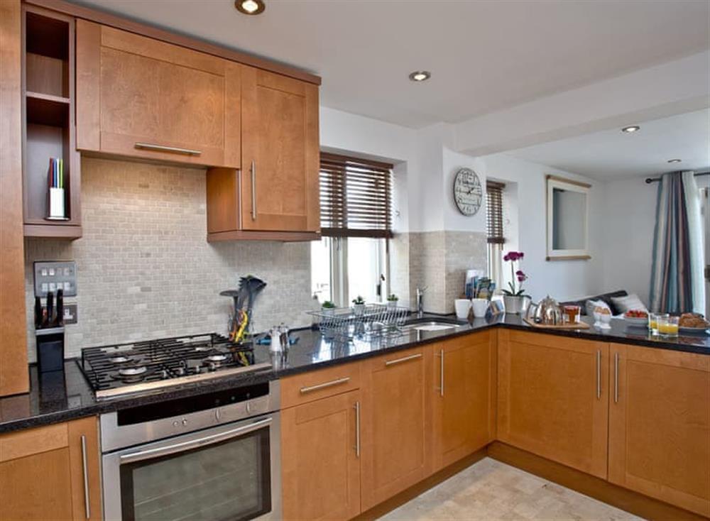 Kitchen at Sea Gem in Endsleigh Court, Dartmouth