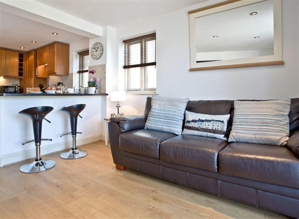 Living area at Sea Gem in Endsleigh Court, Dartmouth