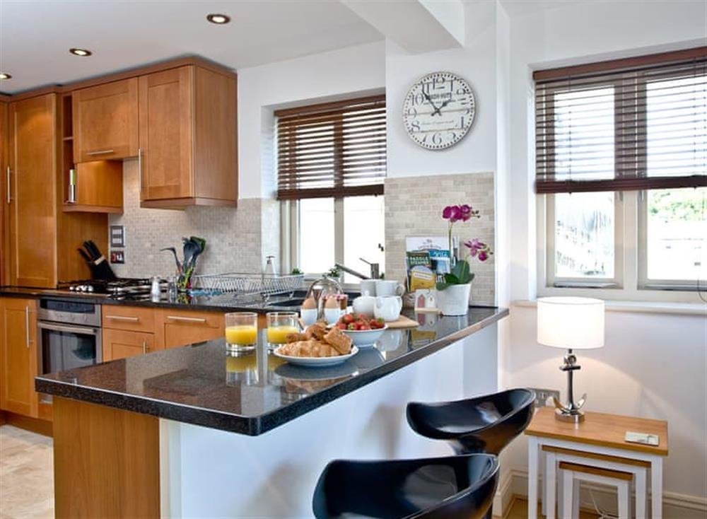 Open plan living space (photo 2) at Sea Gem in Endsleigh Court, Dartmouth