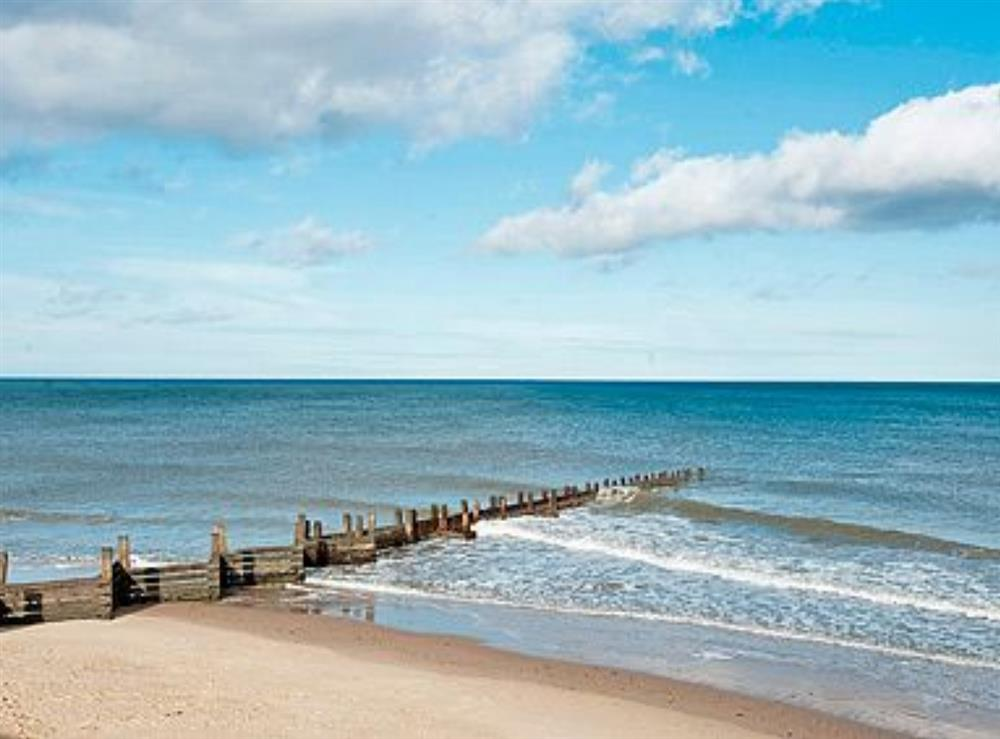 Beach at Sea Haven in Bacton, Norfolk
