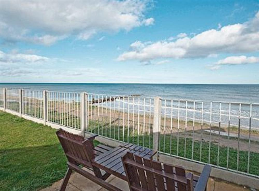 View at Sea Haven in Bacton, Norfolk