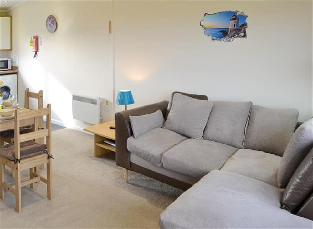 Convenient open-plan living space at Sea Space in Bacton, Norfolk