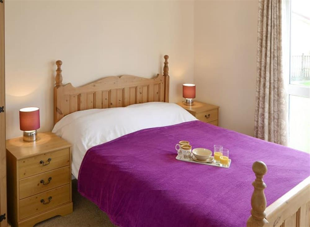 Relaxing double bedroom at Sea Space in Bacton, Norfolk