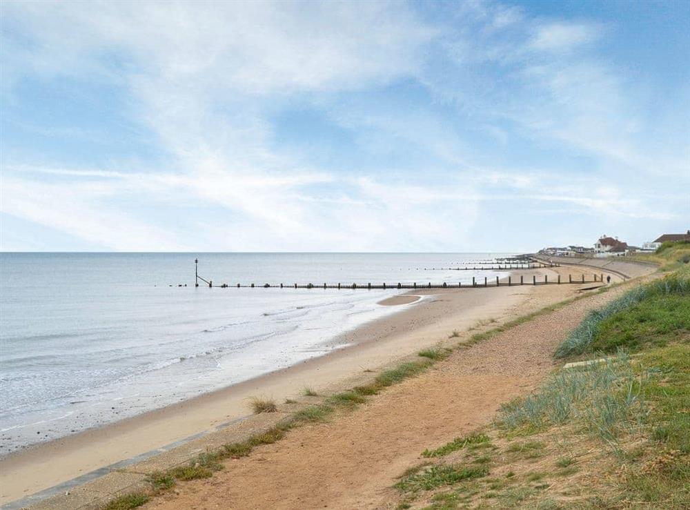 Beach at Sea Spray in Bacton, Norfolk