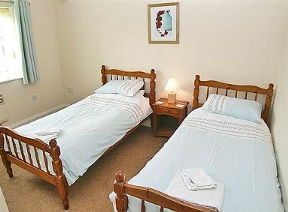 Twin bedroom at Sea Spray in Bacton, Norfolk