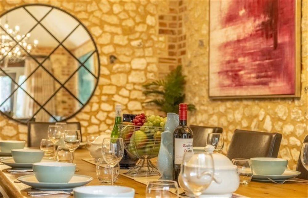 Dining room at Sea View Barn, Titchwell near Kings Lynn, Norfolk