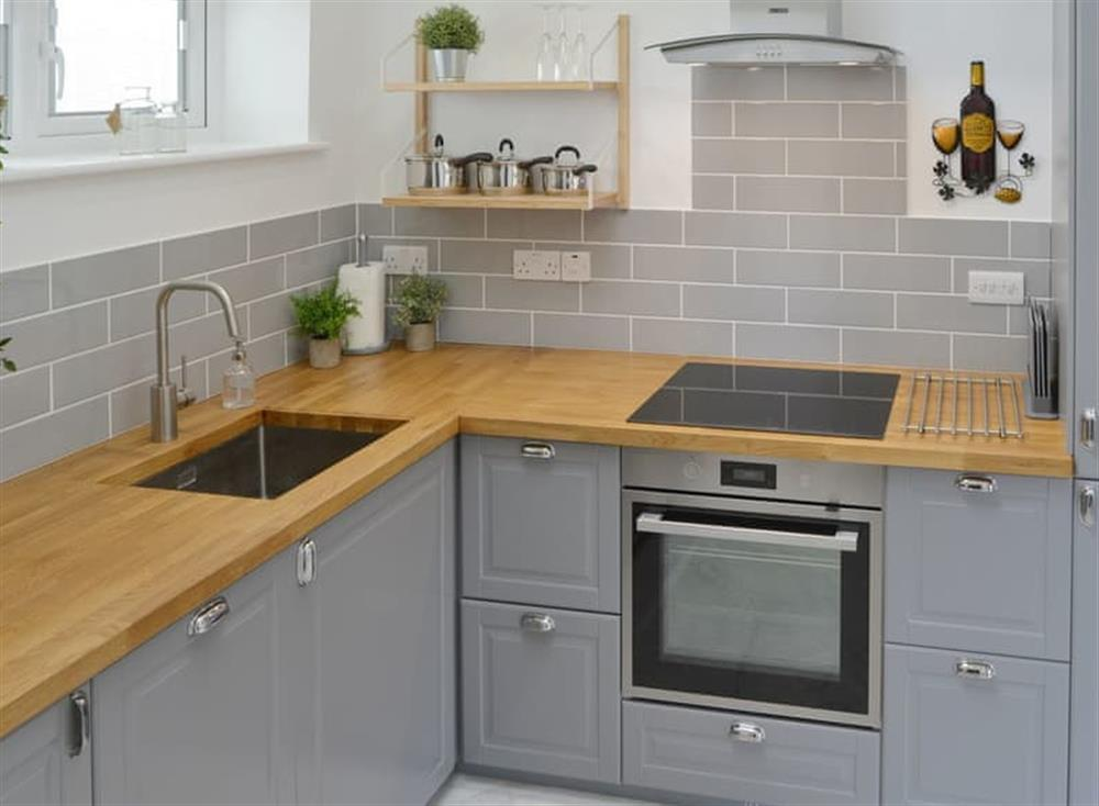 Fully appointed fitted kitchen at Seabreeze in Walcott, Norfolk