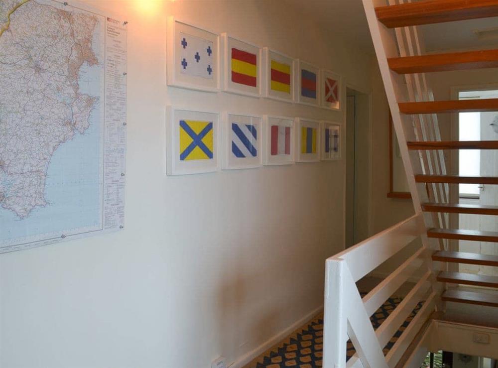 Hallway (photo 2) at Seacliff Cottage in Strete, near Dartmouth, Devon