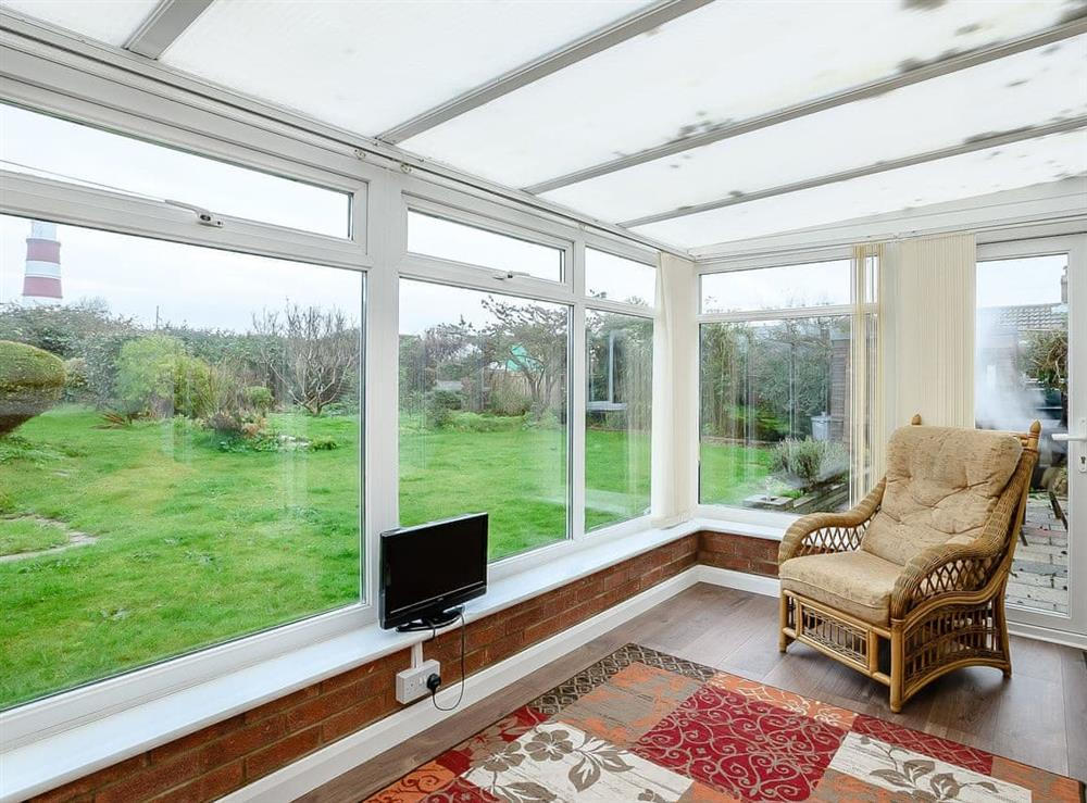Conservatory at Seaclusion in Happisburgh, Norfolk