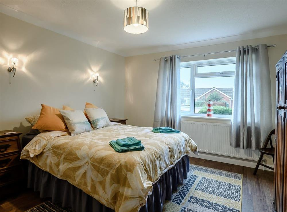 Double bedroom at Seaclusion in Happisburgh, Norfolk