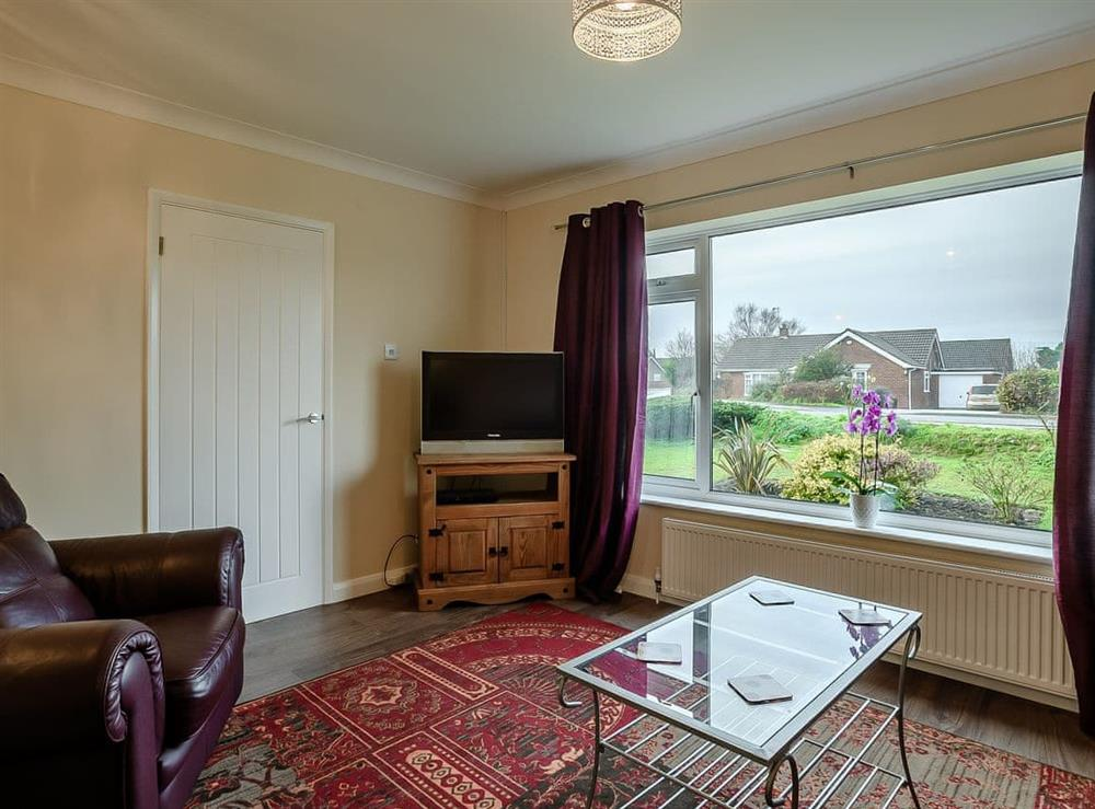 Living room at Seaclusion in Happisburgh, Norfolk