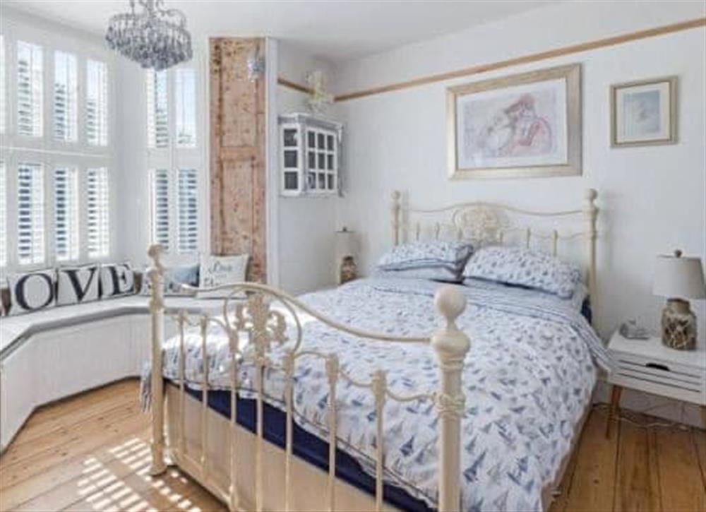 Double bedroom at Seadeck in Brixham, Devon