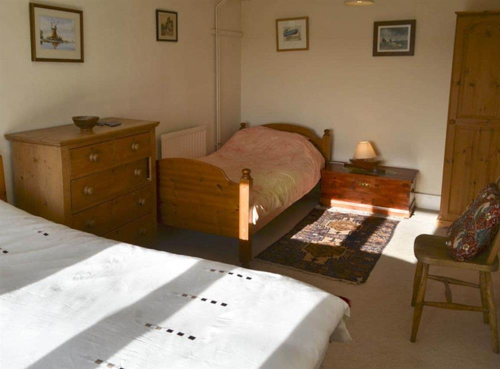 Double bedroom with additional bed at Seafarers in Norwich, Norfolk