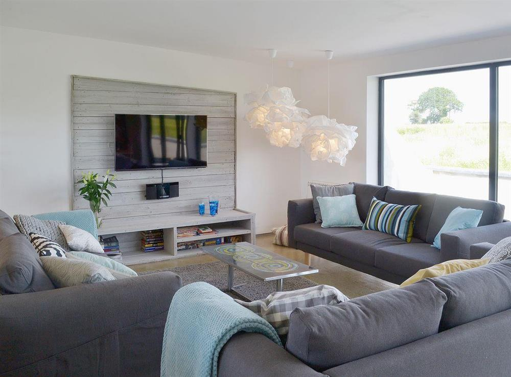 Stunning open plan living area at Seaglass Barn in East Ruston, near Stalham, Norfolk