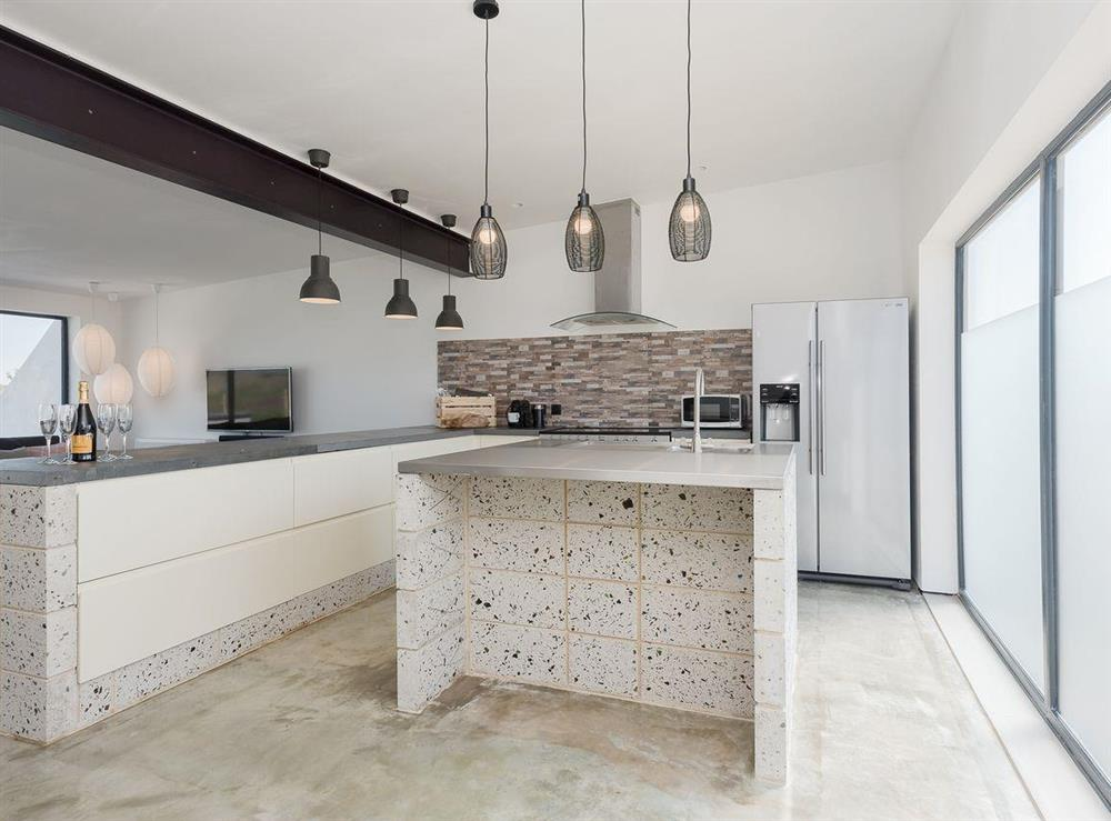 Excellent, well equipped kitchen at Seaglass Barn (Sand),