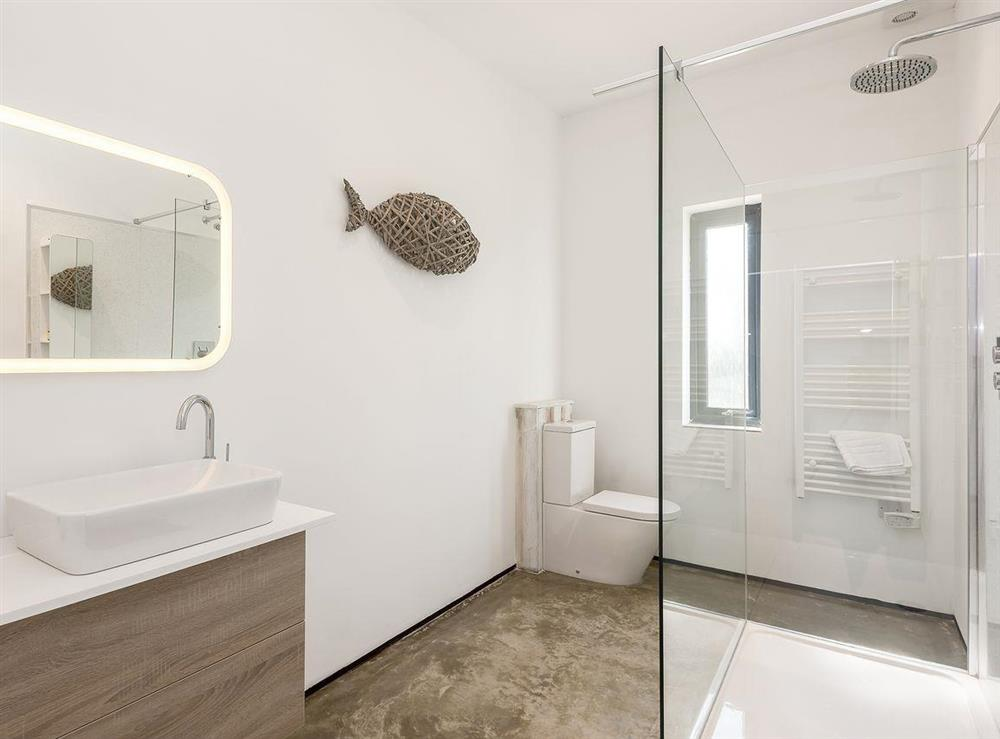Large well presented shower room at Seaglass Barn (Sand),