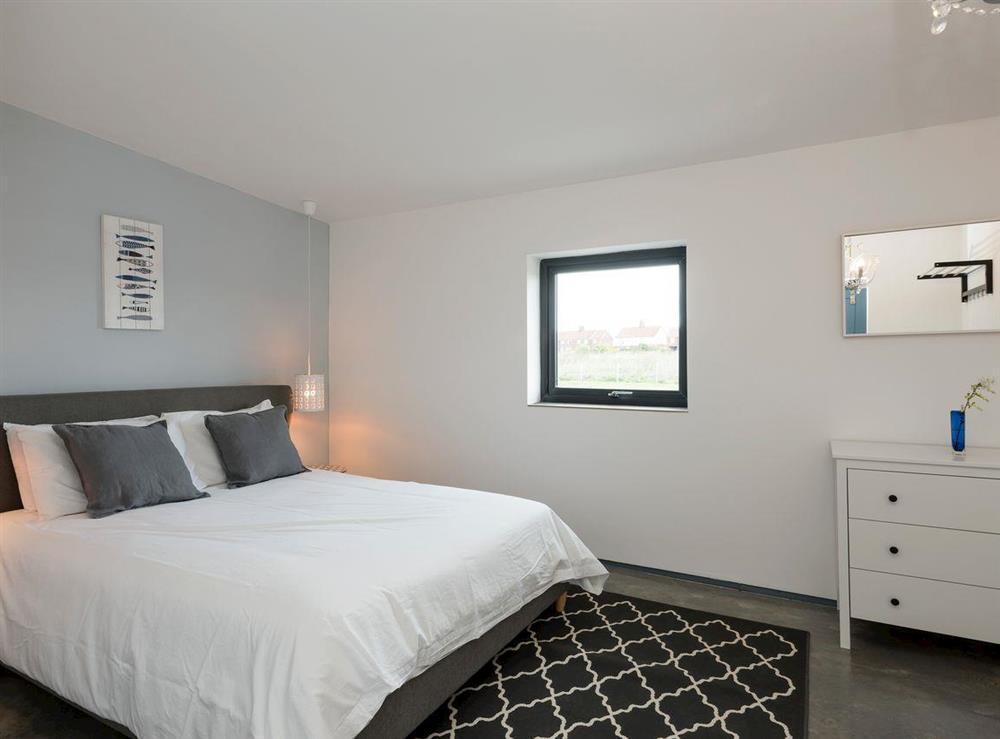 Peaceful double bedroom at Seaglass Barn (Sea),