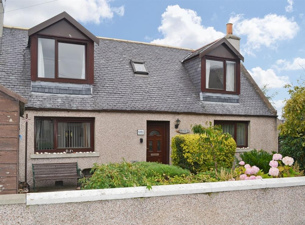 Exterior at Seashell Cottage in Fishertown, near Nairn, Morayshire