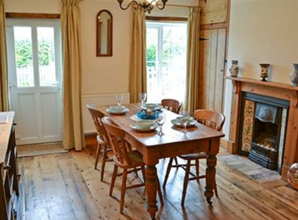 Dining Area at Jennys Cottage,