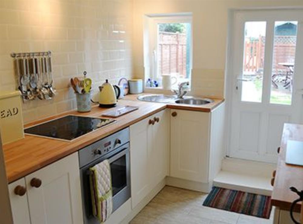 Kitchen at Jennys Cottage,