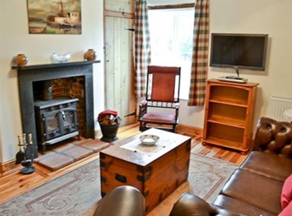 Living room at Jennys Cottage,