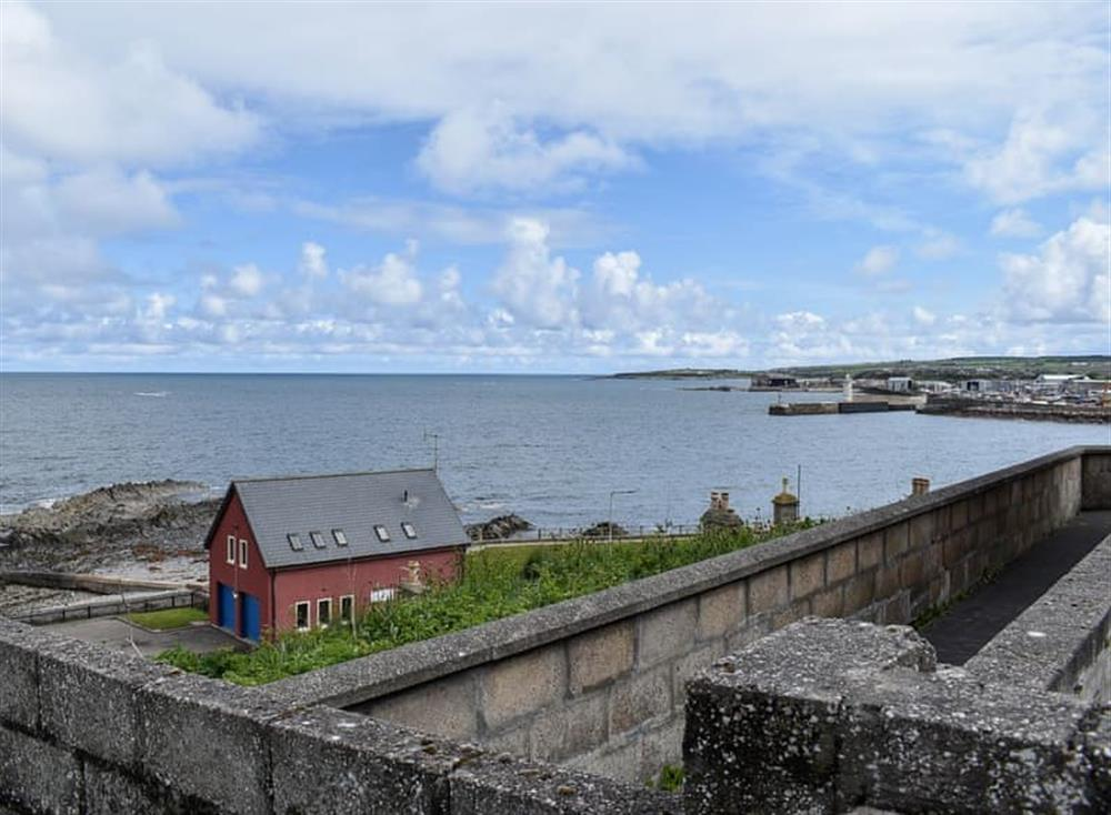 View at Seatown in Buckie, Highlands, Banffshire