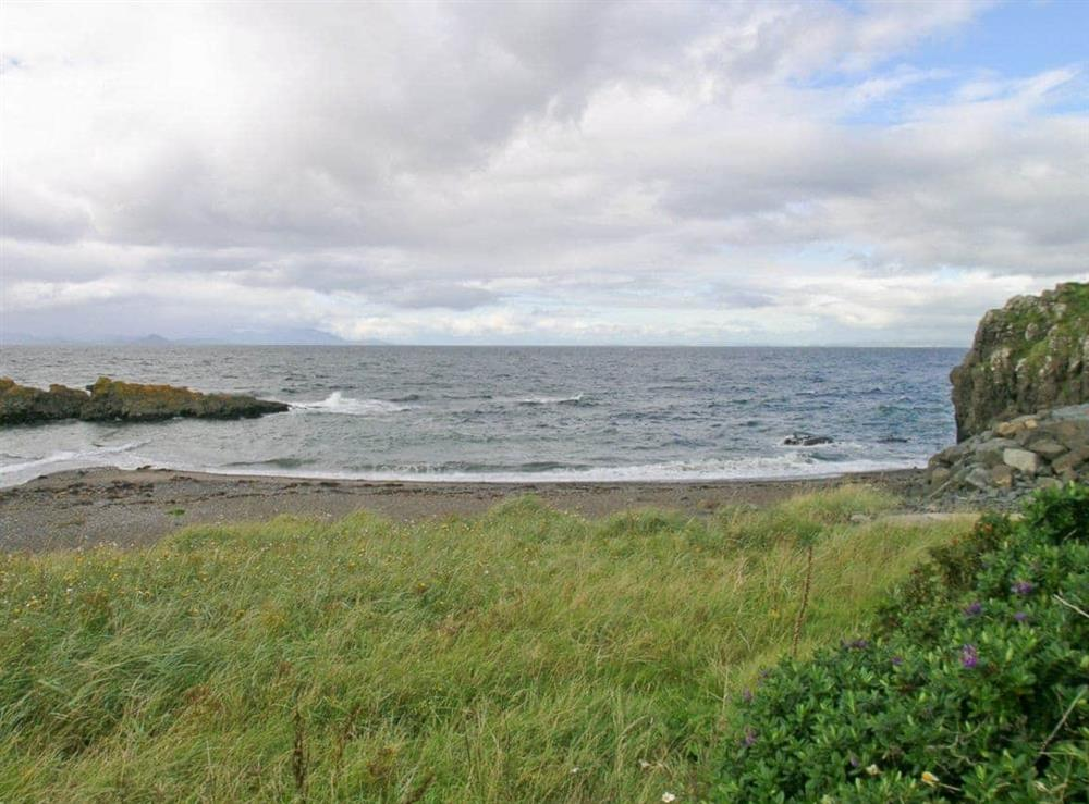 View at Seaview Cottage in Dunure, Ayrshire
